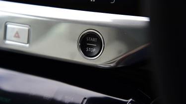 Jaguar I-Pace - start/stop button