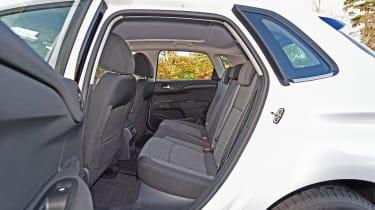Citroen C4 - rear seats