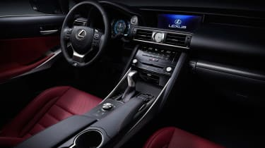 Lexus IS 2016 inside