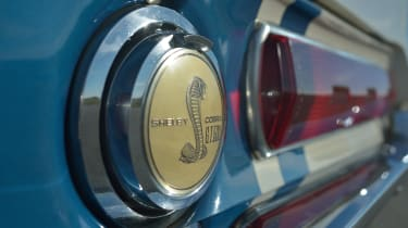 Ford Mustang Shelby GT500 Super Snake - badge