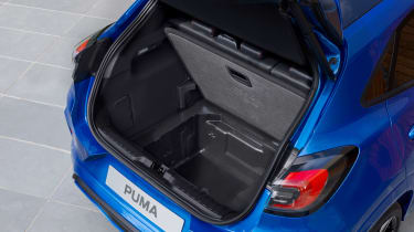 Ford Puma - boot above
