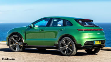 Porsche Macan EV - render
