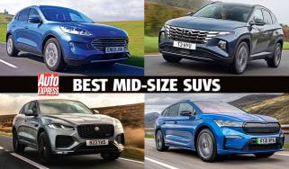 Best mid-size SUVs header