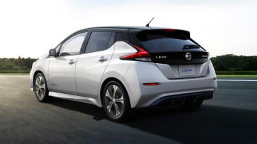 New Nissan Leaf - rear studio