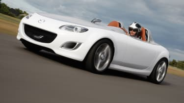 "The MX-5 has had a lightweight philosophy engrained upon it from the word go but the Superlight concept that debuted at the <a href=""/frankfurt-motor-show"">Frankfurt Motor Show</a> in 2009 took things to extremes.&nbsp;