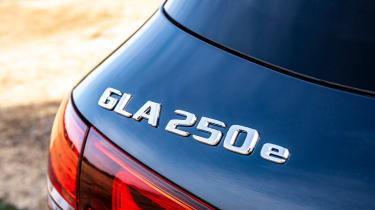 Mercedes GLA 250 e - badge