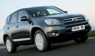 Front view of Toyota RAV4 T180