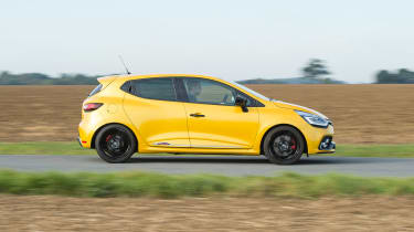 Renault Clio RS 220 Trophy - side