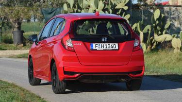 Honda Jazz - rear action