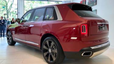Rolls-Royce Cullinan SUV - rear