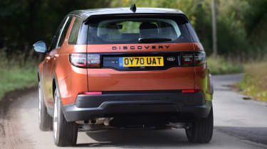 Land Rover Discovery Sport D180 first report - rear
