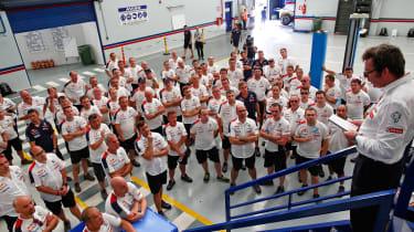 Peugeot Sport - Bruno Famin speech