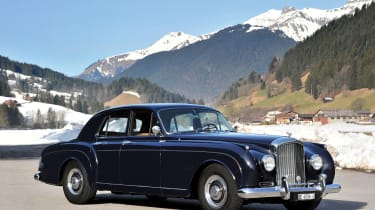 Another stunning British lot gracing the shores of Lake Como is this Bentley S1 Continental Flying Spur Sports Saloon. Coachwork by H.J. Mulliner sets this elegant Bentley apart, as does its highly desirable and rare alloy body.