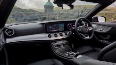 Mercedes E-Class Cabriolet - interior