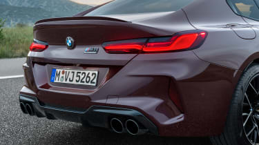 BMW M8 Gran Coupe - rear lights