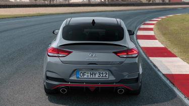 Hyundai i30 N Fastback - full rear