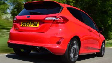 Ford Fiesta ST-Line rear