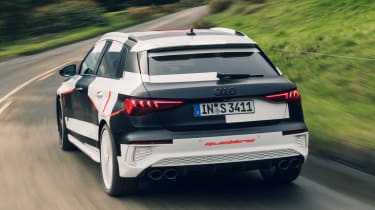 Audi S3 prototype - rear tracking