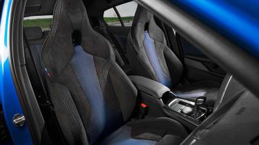 New BMW M135i 2019 1 Series seats