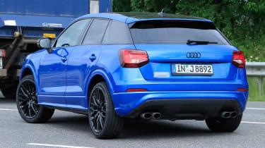 Audi SQ2 spy shots - rear quarter 2