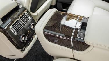 Range Rover PHEV - rear interior details