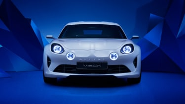 Renault Alpine Vision concept - front white