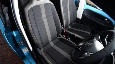 Volkswagen up! - front seats