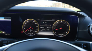 Mercedes-AMG E 63 S dash