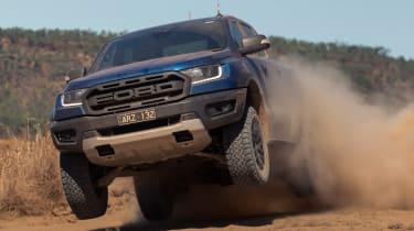 Ford Ranger Raptor - jump
