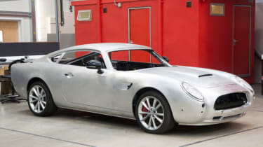 David Brown Automotive Speedback building process