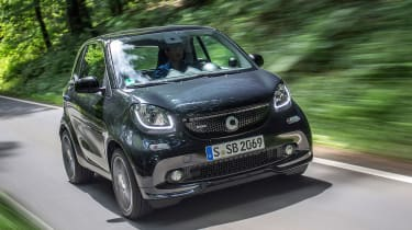 Smart ForTwo Brabus 2016 - front tracking 2