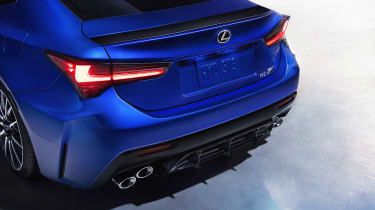 Lexus RC F - rear detail