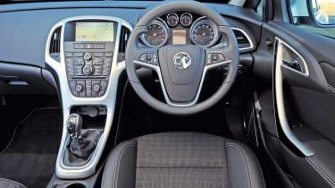 Vauxhall Astra GTC interior
