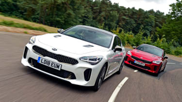 Kia Stinger - long-term final report head-to-head