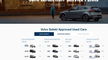 Volvo Selekt Approved used cars