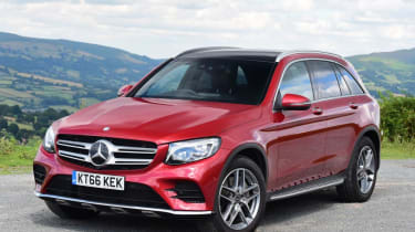 Used Mercedes GLC - front