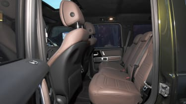 Mercedes G 350 d - rear seats