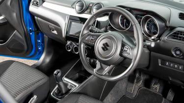 Suzuki Swift Allgrip - interior