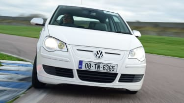 Volkswagen Polo BlueMotion - front action