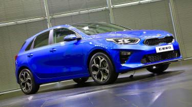 Kia Ceed - front static