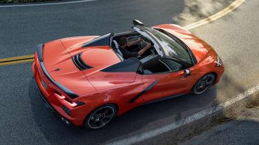 Chevrolet Corvette Stingray - top]