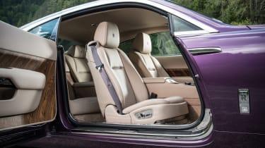 Rolls Royce Wraith cabin