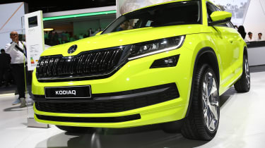 Skoda Koqiaq Speed Yellowgreen - Paris