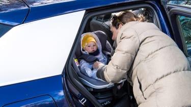 Audi Q2 35 TFSI long-termer - car seat