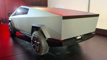 Tesla Cybertruck - reveal rear