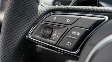 Audi RS5 - steering wheel detail