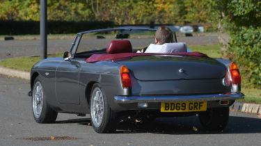 Electric MGB - rear