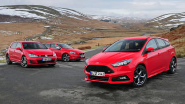 Ford Focus ST diesel vs rivals