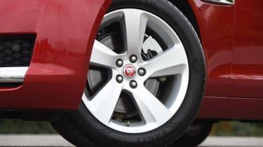 Long-term test review: Jaguar XF - first report wheel