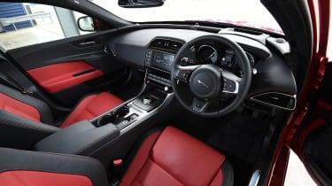 Jaguar XE interior front